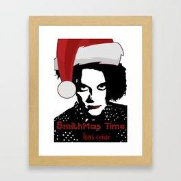 Robert Smith Christmas The Cure Framed Art Print