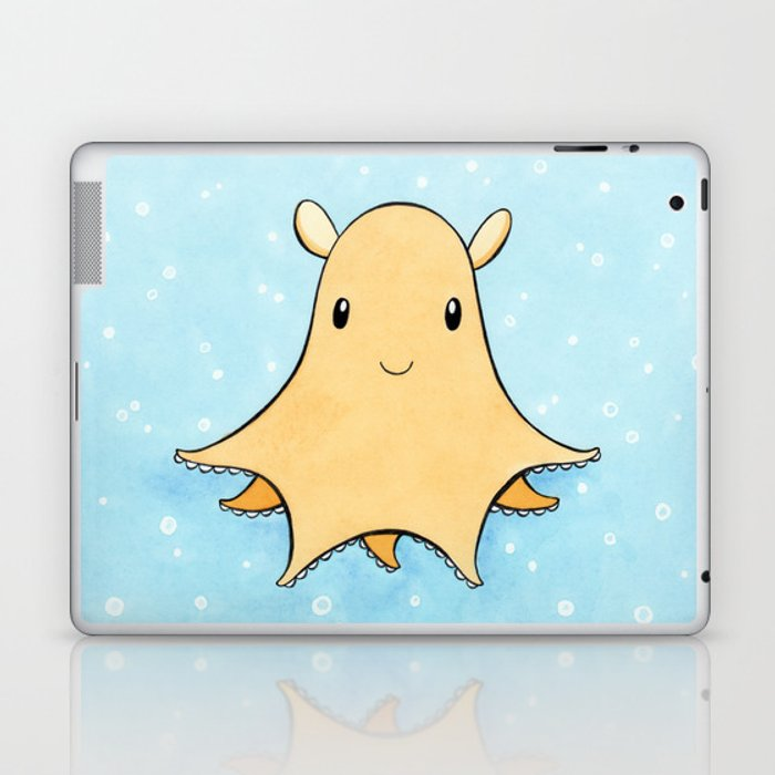 Flapjack Octopus Laptop & iPad Skin