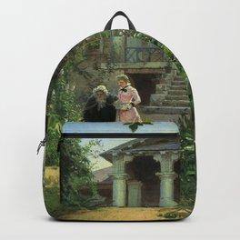Vasily Polenov - Großmutters Garten Backpack