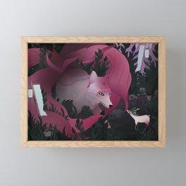 Spirits of the forest Framed Mini Art Print