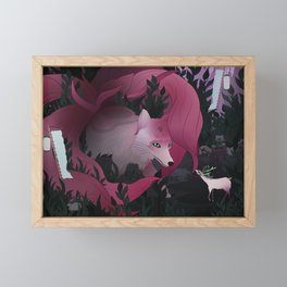 Spirits of the forest Framed Mini Art Print