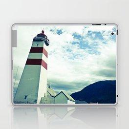 Lighthouse in norway Laptop & iPad Skin