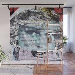 Paper Princess Wall Mural