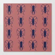 Beetle Grid V4 Canvas Print