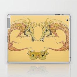 Dragon with fish Laptop & iPad Skin