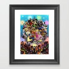 Legend of Seven Stars! Framed Art Print