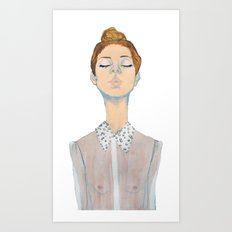 Just the thought of you. Art Print