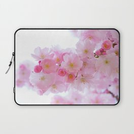 Pink Cherry Blossoms Laptop Sleeve