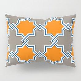 Ancient South Italian Majolica Tile Pillow Sham