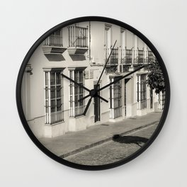 White village Wall Clock
