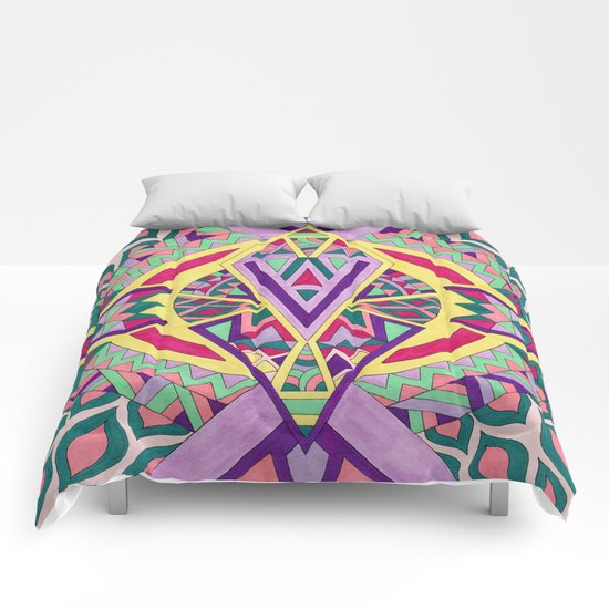 Abstract Journey Comforters