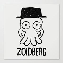 Zoidberg Canvas Print