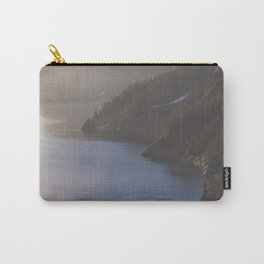 First Light at the Lake - Nature Photography Carry-All Pouch