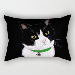 Tuxedo Cat Rectangular Pillow