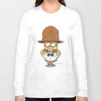 minions Long Sleeve T-shirts featuring Pharrell Minion by TheMohamz