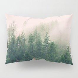 Pink Fog Pillow Sham