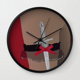 Deadly Seduction Wall Clock