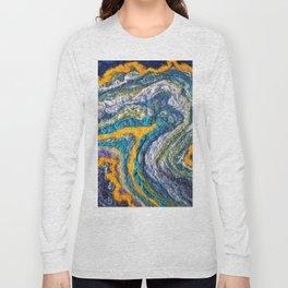 FELT Expressions - Circle Mint Long Sleeve T-shirt