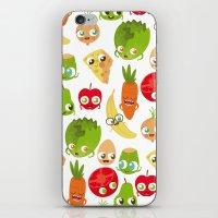 food iPhone & iPod Skins featuring Food by Peerro
