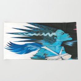Heart of the Monster Beach Towel