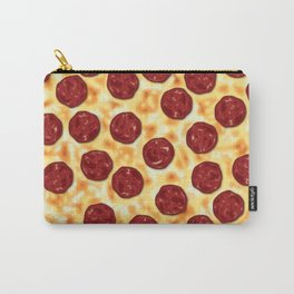 Pepperoni Pizza Pattern Carry-All Pouch