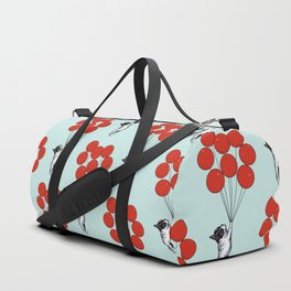 I Believe I Can Fly French Bulldog Duffle Bag