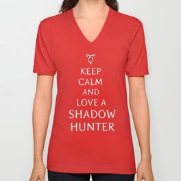 Keep Calm TMI Unisex V-Neck
