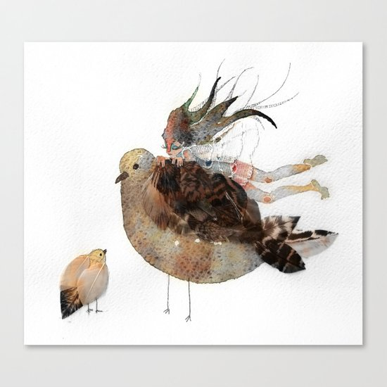 a bird thing  Canvas Print