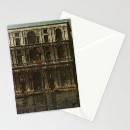 Venice, Palazzo Grimani by Canaletto Stationery Cards
