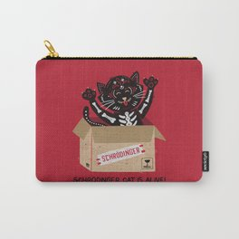 Am I Alive Schrödinger Cat Carry-All Pouch