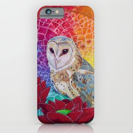 Lakshmi's Vahana ( Bird Whisperer Project Owl ) iPhone Case