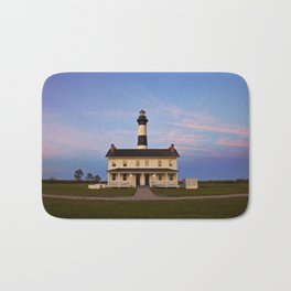Bodie Island Lighthouse at Sunset Bath Mat