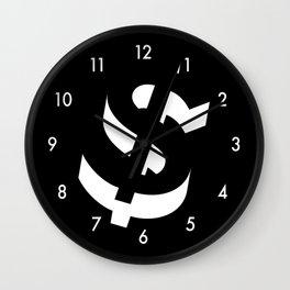 Dollar Sign Wall Clock