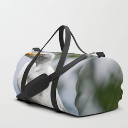 Great Egret - Utah Duffle Bag