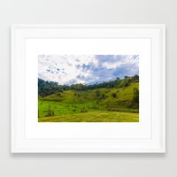 tennessee Framed Art Prints featuring TENNESSEE by redheadgraphics