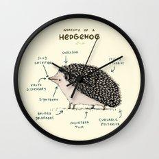 Anatomy of a Hedgehog Wall Clock