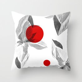 Point of Flow Throw Pillow