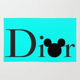 Mickey D. (BLUE) Rug