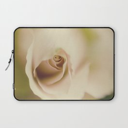 Centre of a pink rose Laptop Sleeve