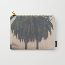 Palm tree at sunset print Carry-All Pouch