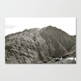 The Truck Stop Canvas Print