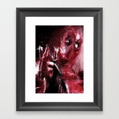 AMAZING DEADPOOOL Framed Art Print