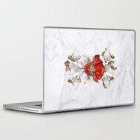 roman Laptop & iPad Skins featuring Roman Marble by Eleaxart