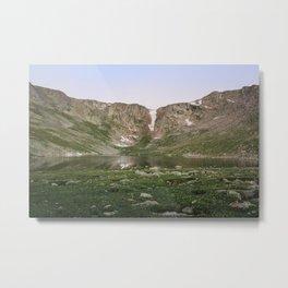 Summit Lake Metal Print
