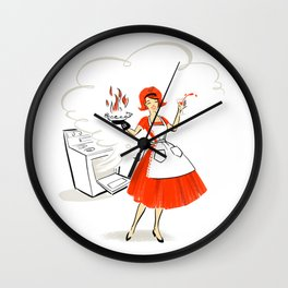 Pie Time Wall Clock