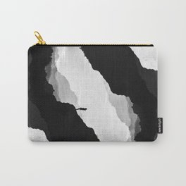 White Isolation Carry-All Pouch