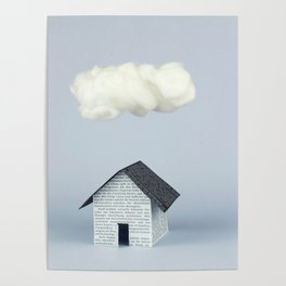 A cloud over the house Poster