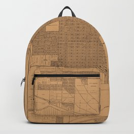 Map of Miami 1918 Backpack
