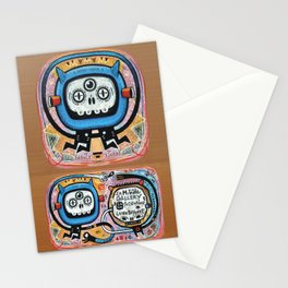 Les mots du chaman Stationery Cards