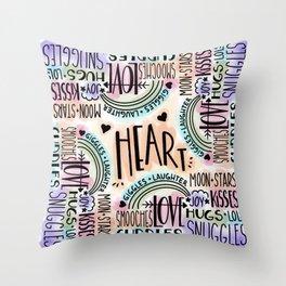 Hugs and Cuddles Throw Pillow